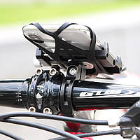 Крепление держатель кронштейн для телефона на велосипед мотоцикл GUB G-85SL + страховка