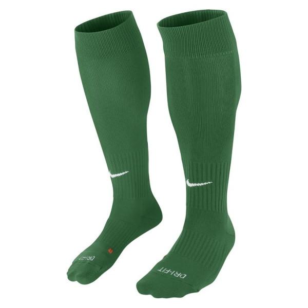 Гетры футбольные Nike Classic II Cushion SX5728-302 Зеленый XL (46-50) (091209532447)