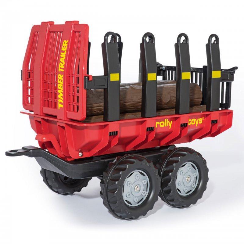 Прицеп для перевозки дерева Rolly timber Rolly Toys 123254