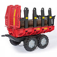 Прицеп для перевозки дерева Rolly timber Rolly Toys 123254, фото 1