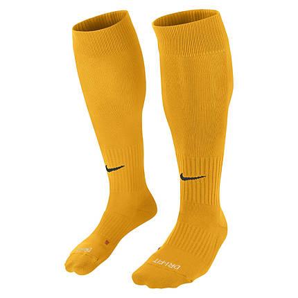 Гетры футбольные Nike Classic II Cushion SX5728-739 Желтый L (42-46) (659658114951), фото 2
