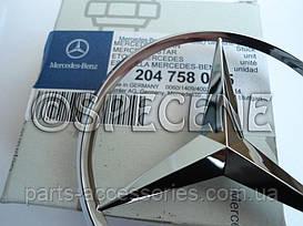 Mercedes C W204 значок эмблема на багажник новая оригинал