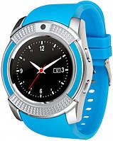 Часы Smart Watch V8 Blue Гарантия 1 месяц