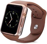 Часы Smart Watch A1 Gold Гарантия 1 месяц