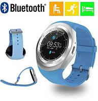 Часы Smart Watch Y1 Blue Гарантия 1 месяц