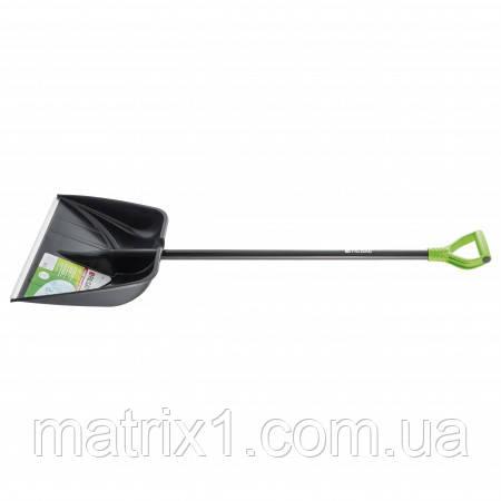 Лопата снігова PROFI, 560 х 415 мм, довжина 1390 мм, алюмінієвий держак PALISAD Luxe