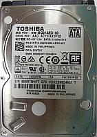 HDD 1TB 5400rpm 8MB SATA II 2.5 Toshiba MQ01ABD100 66NRTWHFTQ7D, фото 1