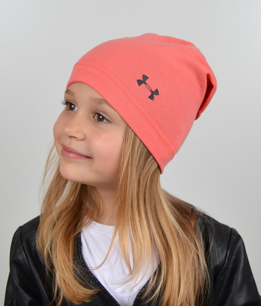 Детская трикотажная шапочка с закрепом