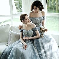 Сукні для дружок довгі. Платья для свидетельниц на свадьбу