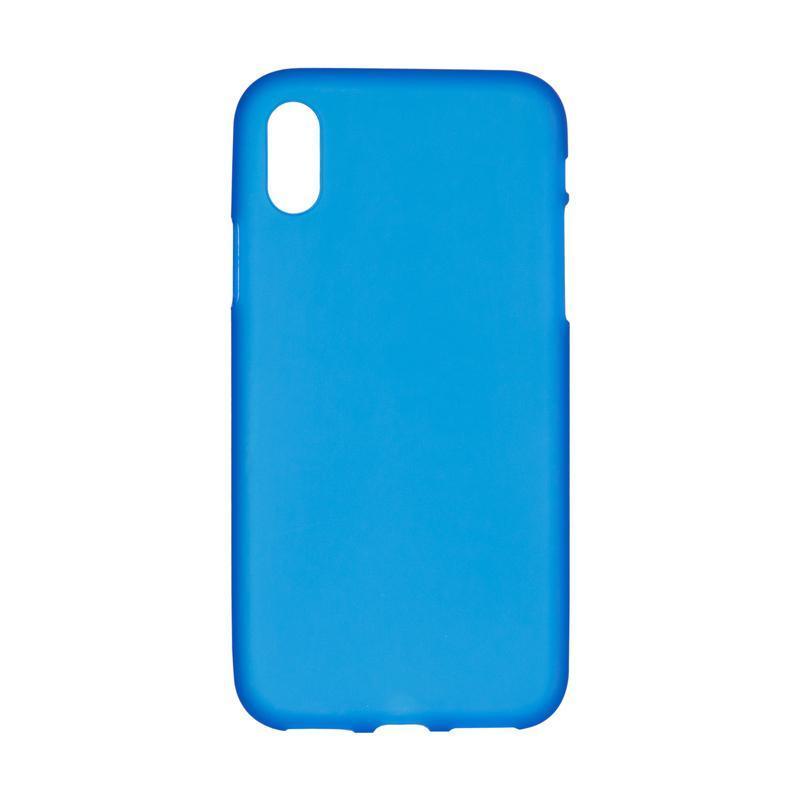 Чехол Original Silicon Case iPhone X Blue