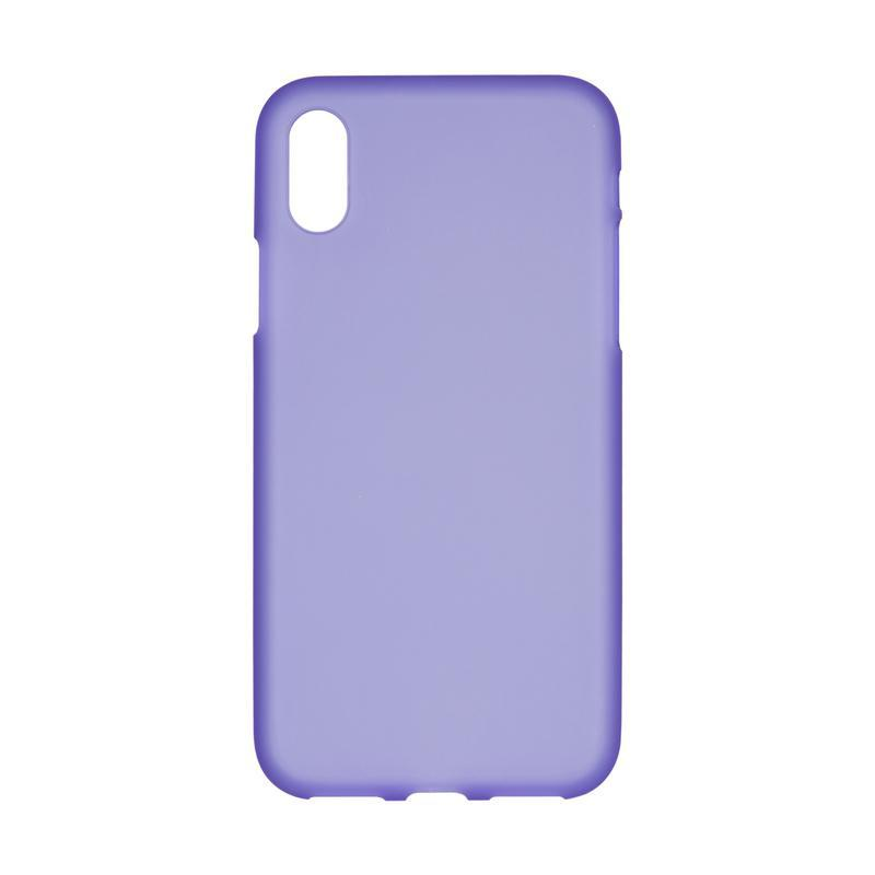 Чехол Original Silicon Case iPhone X Violet