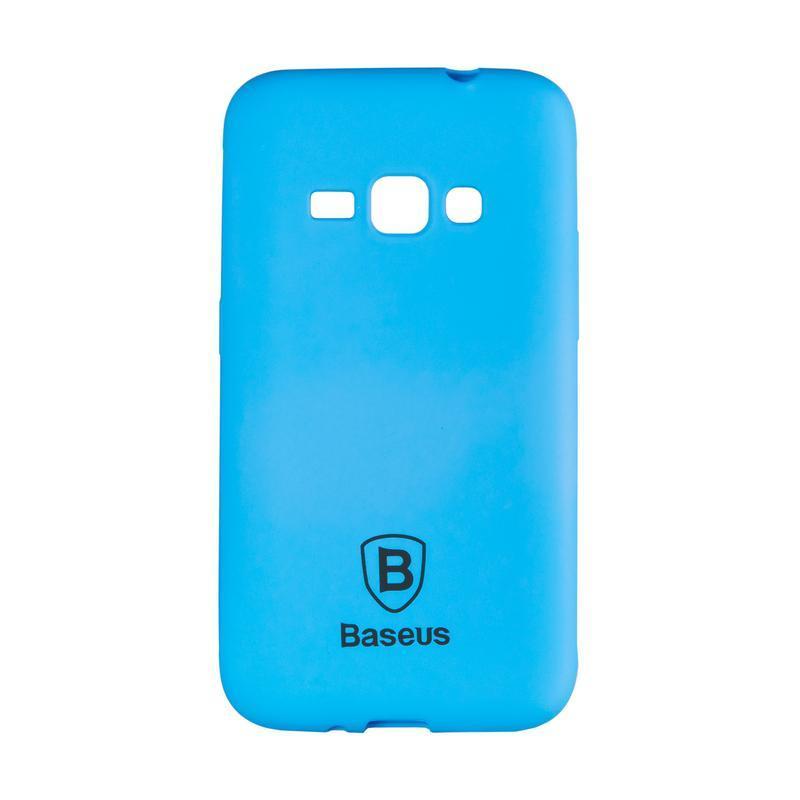 Чехол Baseus Soft Colorit Case for Samsung J120 (J1-2016) Blue