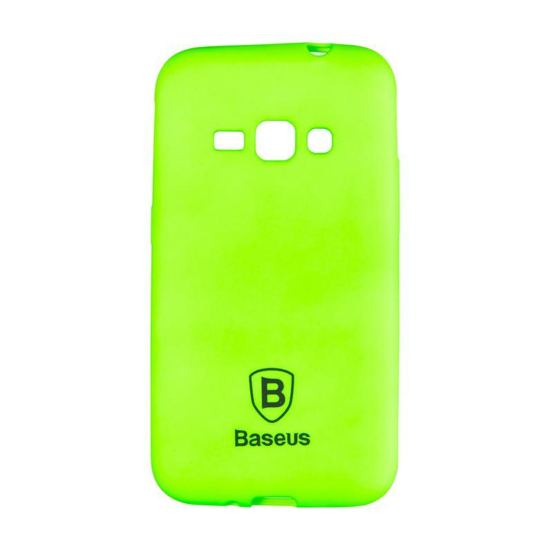 Чехол Baseus Soft Colorit Case for Samsung J330 (J3-2017) Green
