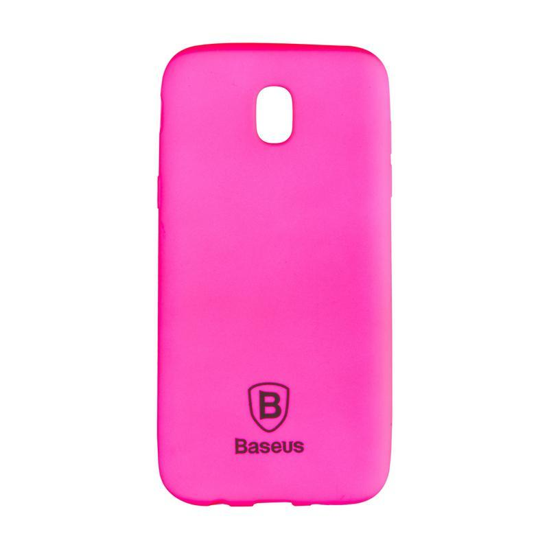 Чехол Baseus Soft Colorit Case for Samsung J730 (J7-2017) Pink