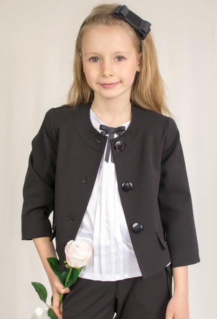 Школьные пиджаки, жилеты и болеро для девочек