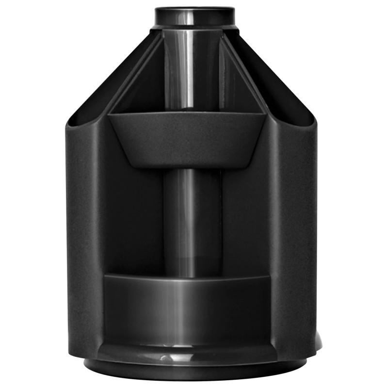 Подставка настольная Economix B-41 вращается на 360 черная