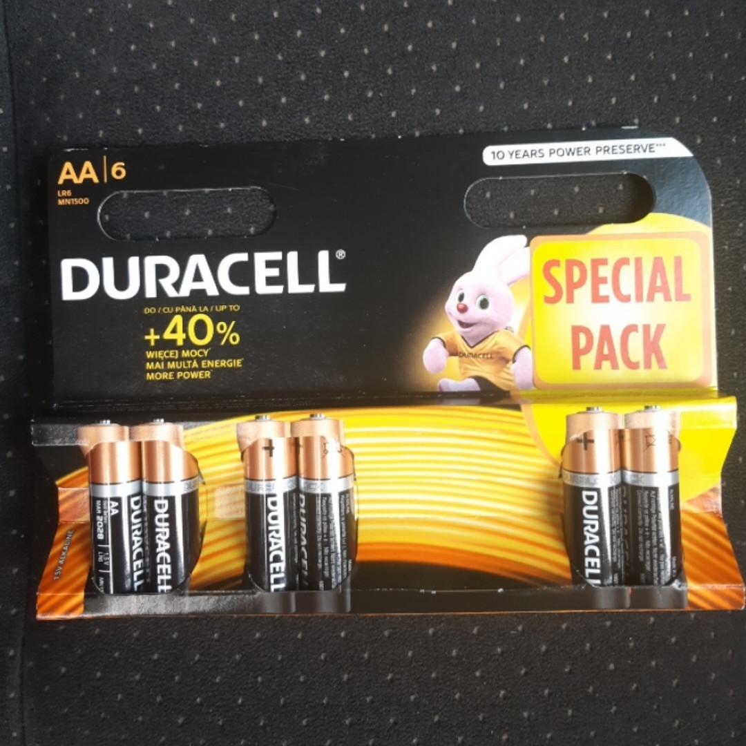 Батарейка DURACELL AA/LR6 (6шт)