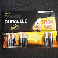 Батарейка DURACELL AA/LR6 (6шт), фото 1