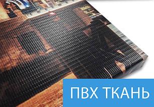 Картина модульная Кофе и круасан  на ПВХ ткани, 80x135 см, (30x20-2/40х20-2/75x20-2), фото 3