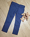 Темно синие брюки скинни с молниями внизу на девочку Gymboree (США) (Размер 6Т), фото 2