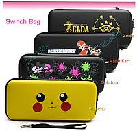 Защитный чехол-кейс для Nintendo Switch с принтами (рисунками) / Стекло есть в наличии /, фото 1
