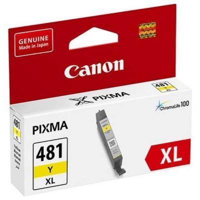 Картридж Canon CLI-481XL Yellow (2046C001)