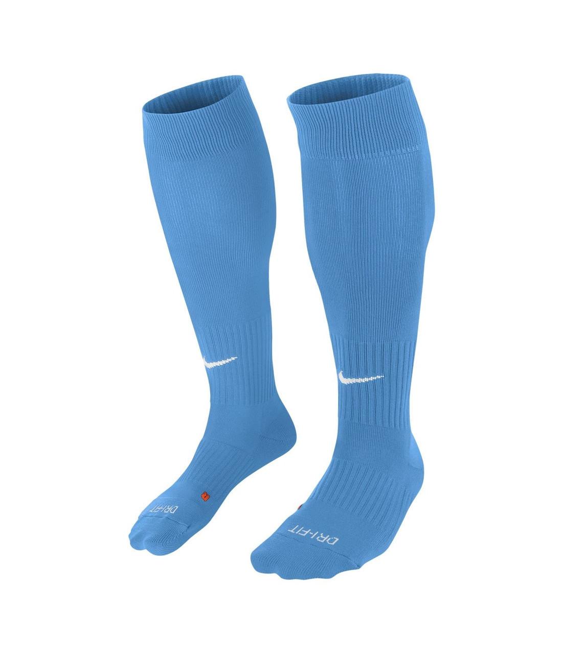 Гетры футбольные Nike Classic II Cushion SX5728-412 Голубой L (42-46) (091209553671)