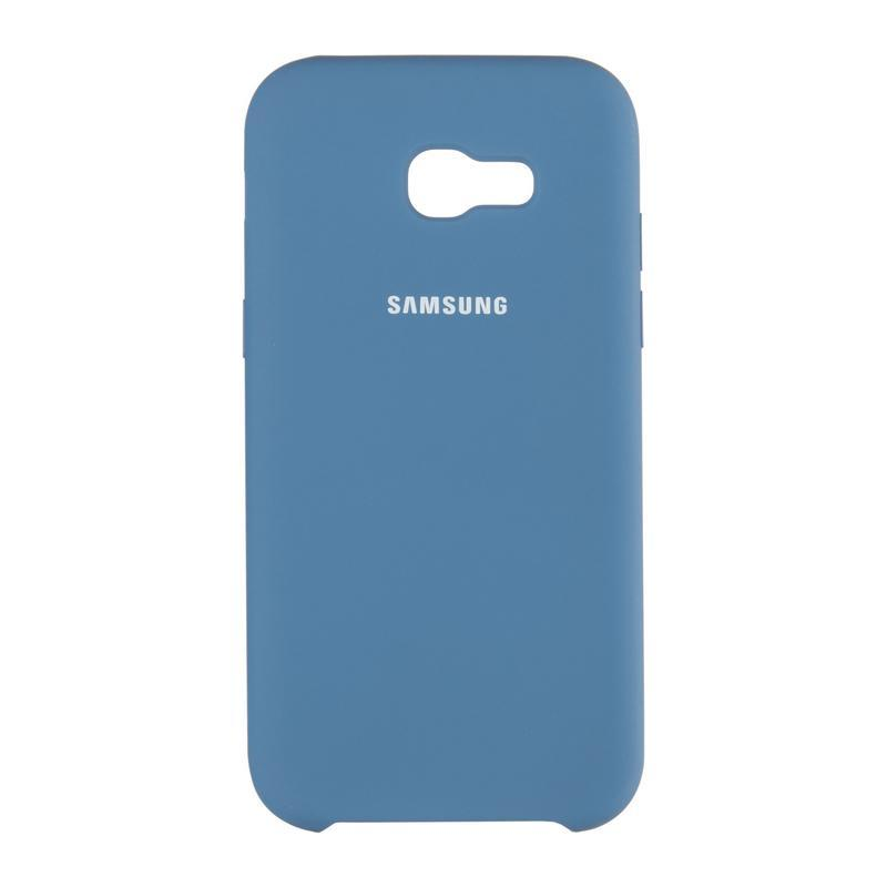 Чехол Original Soft Case Samsung J330 (J3-2017) Dark Blue (20)