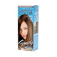 Гель-краска для волос Estel Vital Quality Color №115 Темно-русый 100 мл
