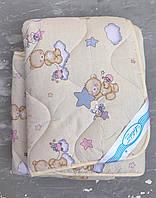 Детское шерстяное одеяло 140*105