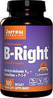 Комплекс витаминов группы Б Jarrow Formulas B-Right B-Complex 100 вег. капсул Лимон