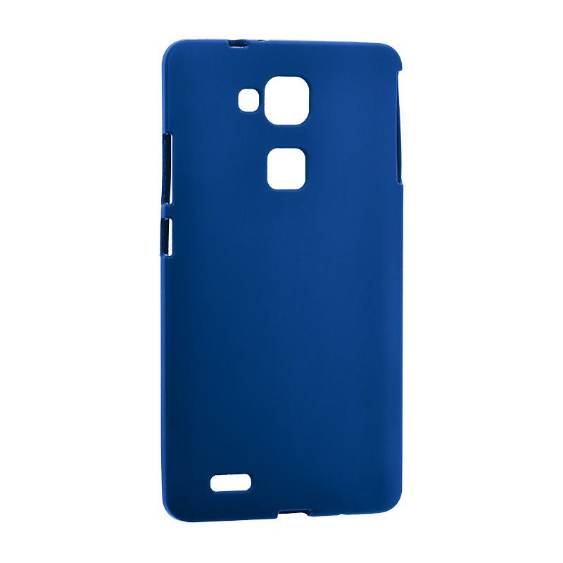 Чехол Original Silicon Case Huawei Y7/Y7 Prime Blue