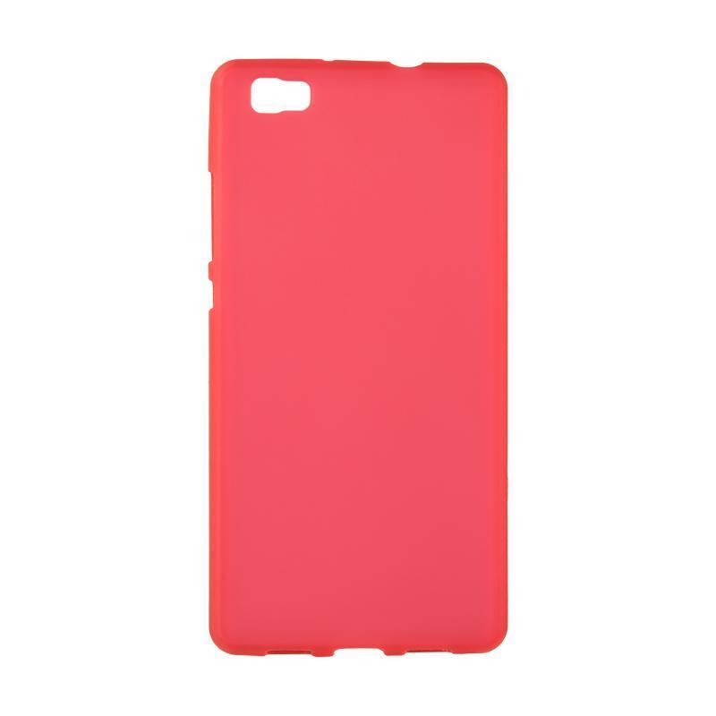 Чехол Original Silicon Case Huawei Y7/Y7 Prime Red