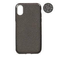 Чехол Remax Glitter Silicon Case iPhone X Black