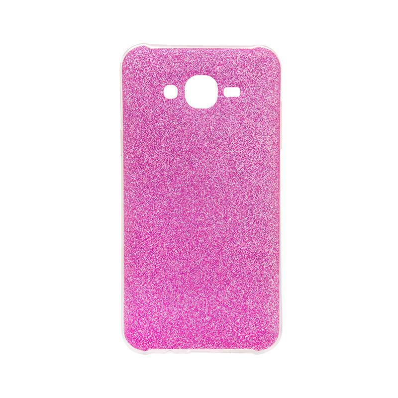 Чехол Remax Glitter Silicon Case Samsung J330 (J3-2017) Pink