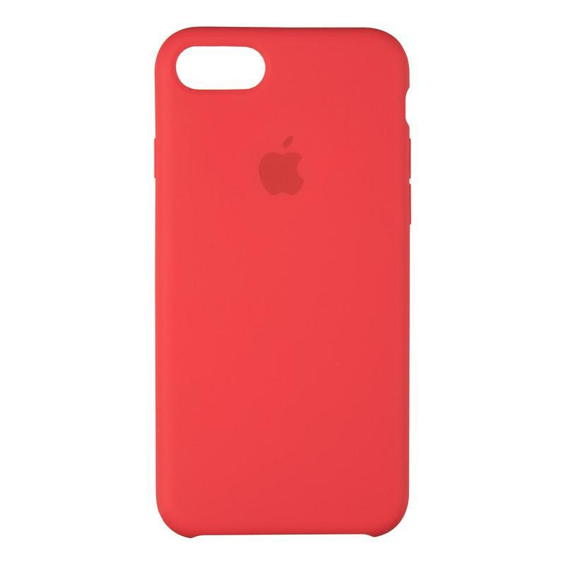 Чехол Original 99% Soft Matte Case for iPhone 7/8 Red