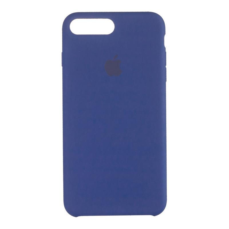 Чехол Original 99% Soft Matte Case for iPhone 7 Plus/8 Plus Blue Cobalt