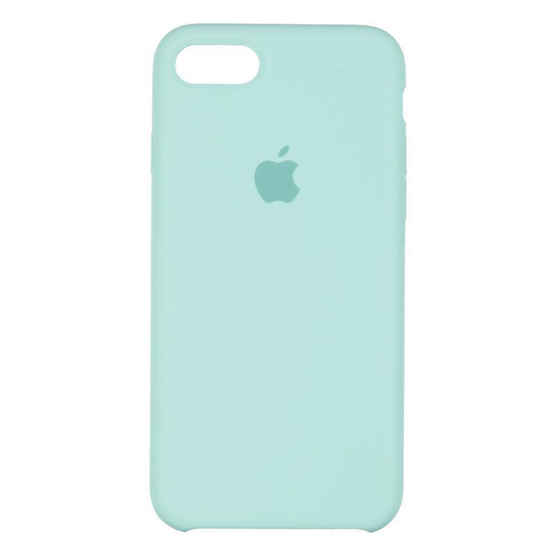 Чехол Original 99% Soft Matte Case for iPhone 7/8 Sea Blue