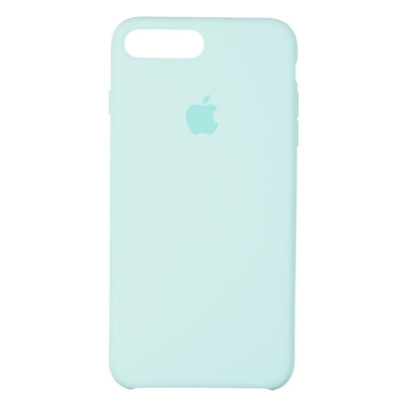 Чехол Original 99% Soft Matte Case for iPhone 7 Plus/8 Plus Sea Blue