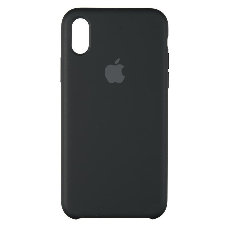 Чехол Original 99% Soft Matte Case for iPhone X Black