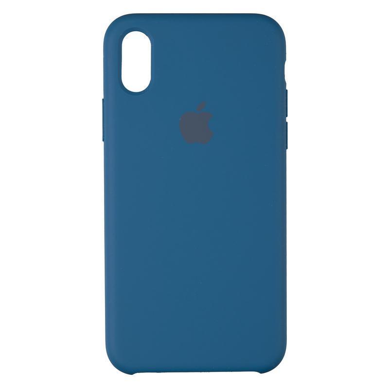 Чехол Original 99% Soft Matte Case for iPhone X Blue Cobalt