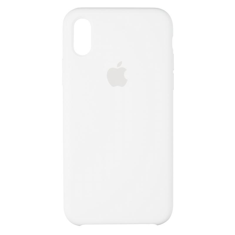 Чехол Original 99% Soft Matte Case for iPhone X White