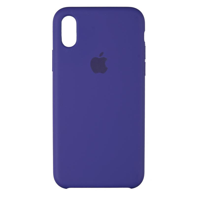 Чехол Original 99% Soft Matte Case for iPhone X Ultra Violet