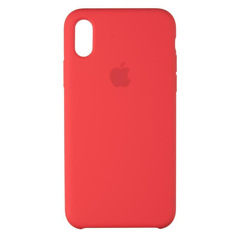 Чехол Original 99% Soft Matte Case for iPhone X Red