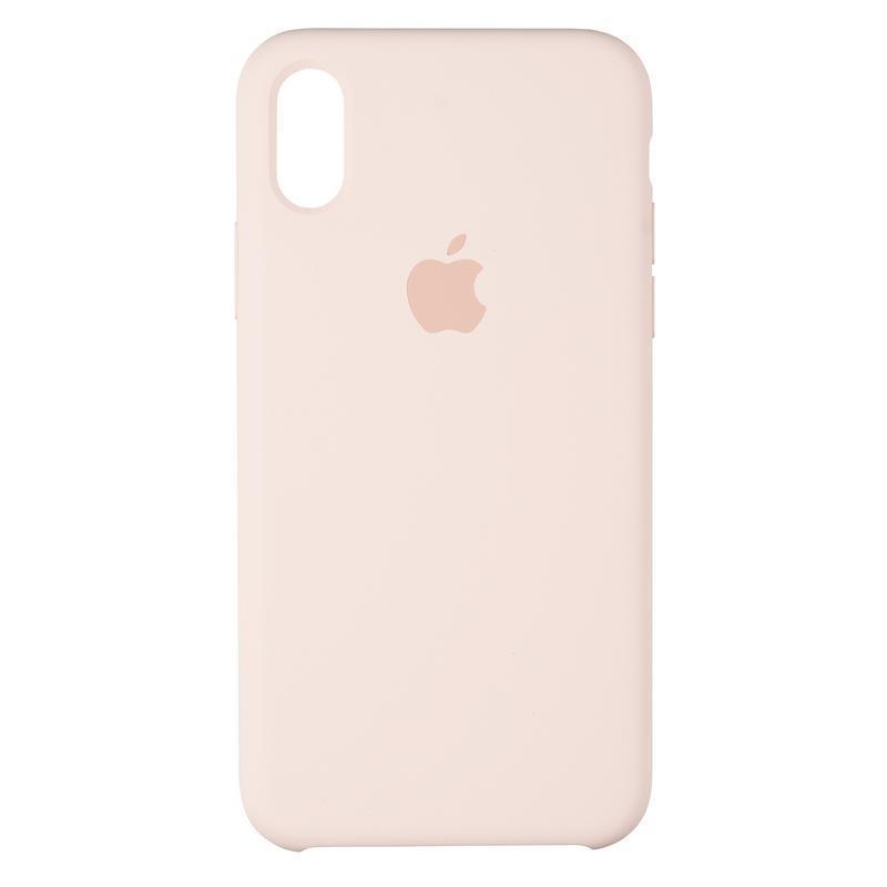 Чехол Original 99% Soft Matte Case for iPhone X Pink Sand