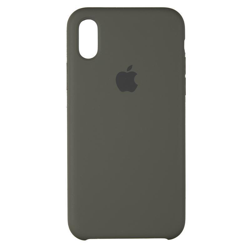 Чехол Original 99% Soft Matte Case for iPhone 7 Plus/8 Plus Dark Olive