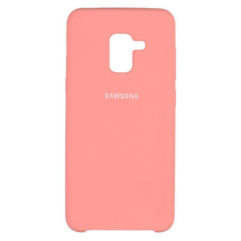 Чехол Original Soft Case Samsung A530 (A8-2018) Pink (29)