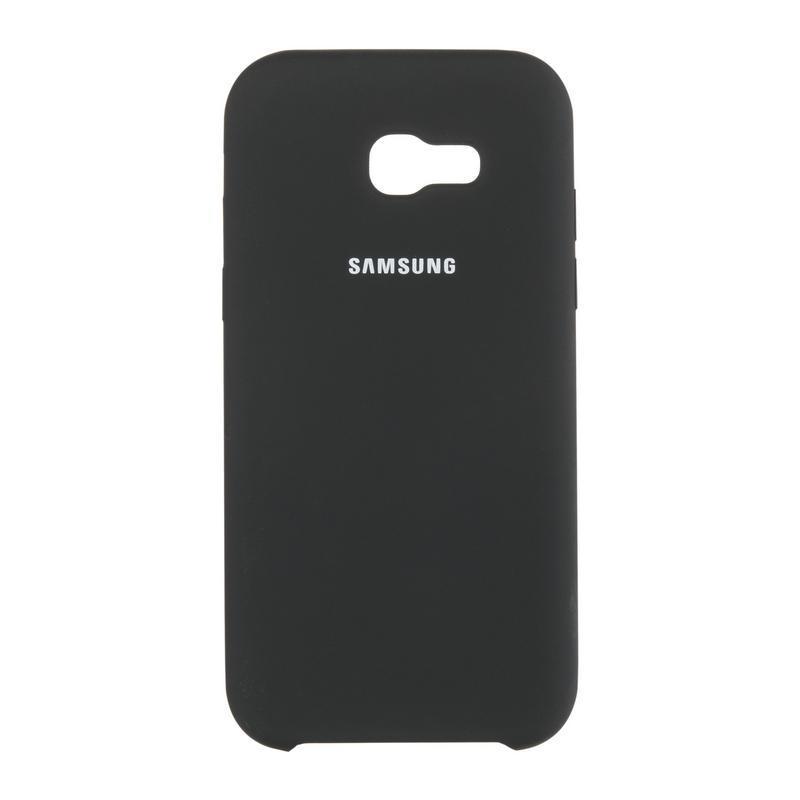 Чехол Original Soft Case Samsung A730 (A8 Plus-2018) Black (18)