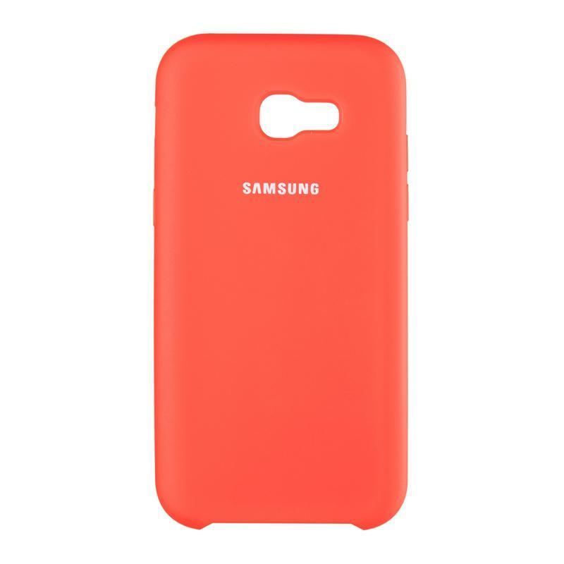 Чехол Original Soft Case Samsung A730 (A8 Plus-2018) Red (14)