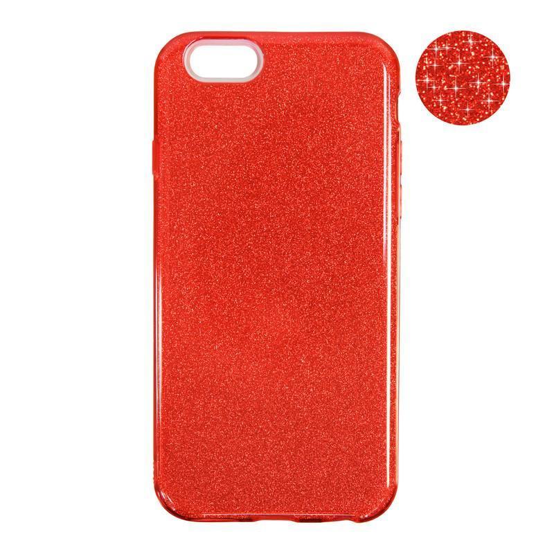 Чехол Remax Glitter Silicon Case iPhone 7 Plus Red